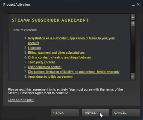 How to activate Steam keys